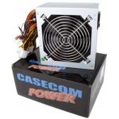 Casecom 400W 12cm Fan PSU - 20+4pin 1x SATA 4x Molex