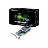PNY NVIDIA Quadro 600 1GB DDR3 DVI DisplayPort PCI-E Low Profile Graphics Card